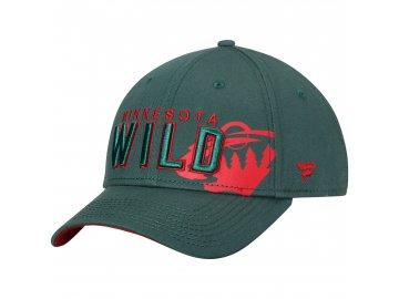 Kšiltovka  Minnesota Wild NHL  Iconic Dual Alpha
