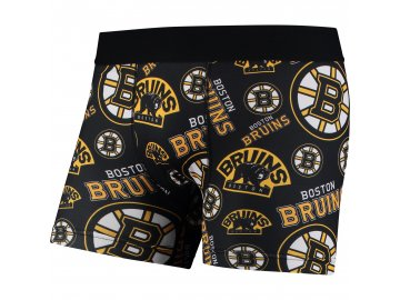 Pánské boxerky  Boston Bruins NHL Repeat Logo Compression