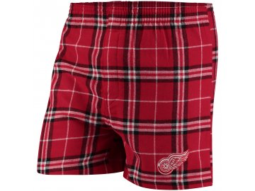 Pánské trenky  Detroit Red Wings NHL Huddle Boxer Shorts
