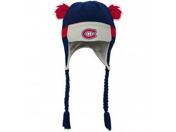 Beranice zimní čepice  Montreal Canadiens NHL Stripe Ears Trooper