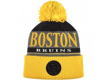 Kulich Boston Bruins Cuffed Knit Hat With Pom