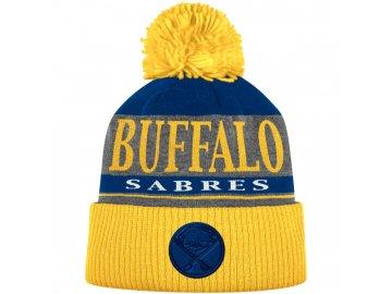 Kulich Buffalo Sabres Cuffed Knit Hat With Pom
