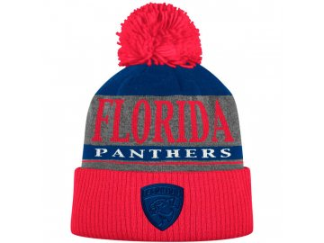 Kulich Florida Panthers Cuffed Knit Hat With Pom
