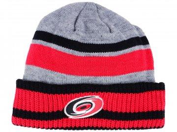 Zimní čepice Carolina Hurricanes adidas NHL Heathered Grey Beanie f69c28cf56