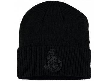 Zimní čepice Ottawa Senators Fanatics Branded Team Haze Cuffed Knit Hat