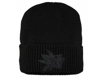 Zimní čepice San Jose Sharks Fanatics Branded Team Haze Cuffed Knit Hat