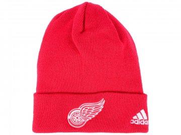 Zimní čepice Detroit Red Wings adidas NHL Basic Cuff Knit