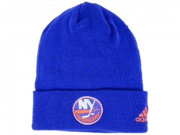 Zimní čepice New York Islanders adidas NHL Basic Cuff Knit