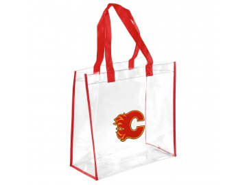 Taška Calgary Flames Clear Reusable Bag