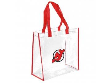 Taška New Jersey Devils Clear Reusable Bag