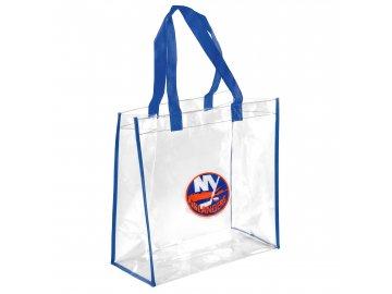 Taška New York Islanders Clear Reusable Bag