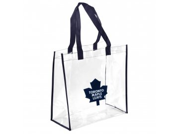 Taška Toronto Maple Leafs Clear Reusable Bag