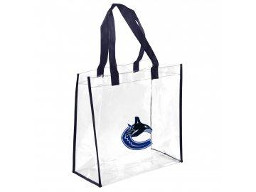 Taška Vancouver Canucks Clear Reusable Bag
