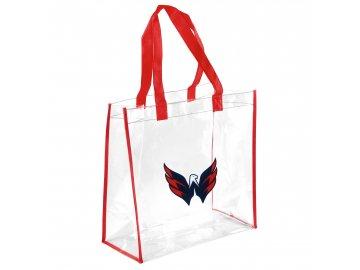 Taška Washington Capitals Clear Reusable Bag
