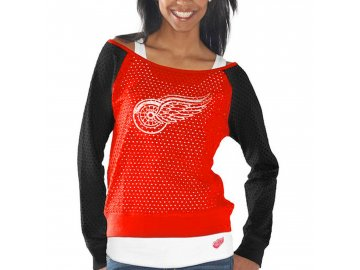 Set dámských triček Detroit Red Wings Holey Long Sleeve Top and Tank Top II Set