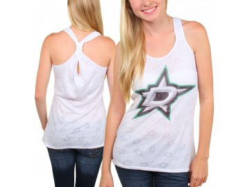 Dámské tílko Dallas Stars Sublime Burnout Racerback Tank Top