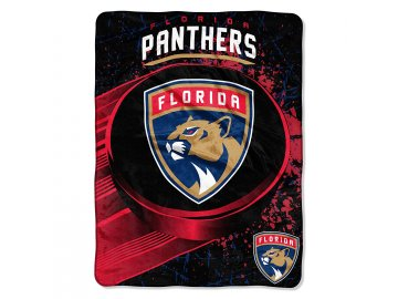 Deka Florida Panthers Plush Micro Throw