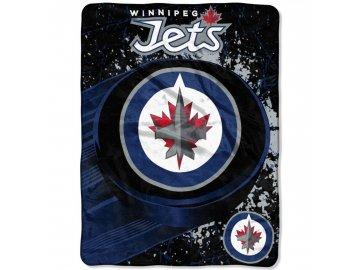 Deka Winnipeg Jets Plush Micro Throw