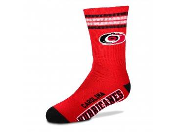 Dětské ponožky Carolina Hurricanes 4-Stripe Deuce Quarter-Length