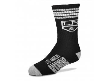 Dětské ponožky Los Angeles Kings 4-Stripe Deuce Quarter-Length