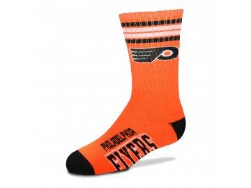 Dětské ponožky Philadelphia Flyers 4-Stripe Deuce Quarter-Length