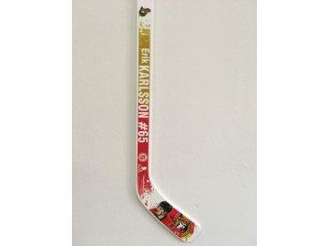 Plastová Minihokejka #65 Erik Karlsson Ottawa Senators NHL Player