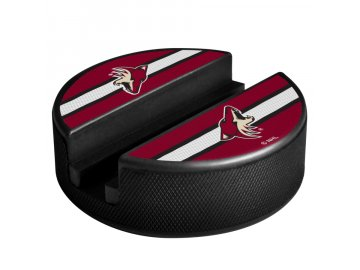 Držák na telefon Arizona Coyotes Puck Media Holder