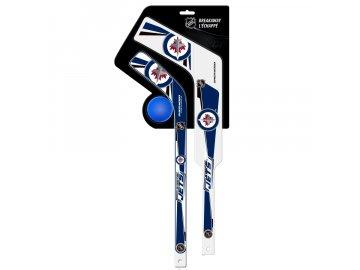 Plastová Minihokejka Winnipeg Jets Breakaway