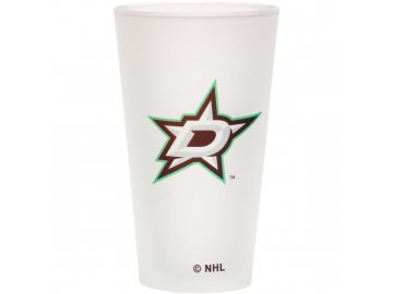Sklenice Dallas Stars Frosted Pint Glass