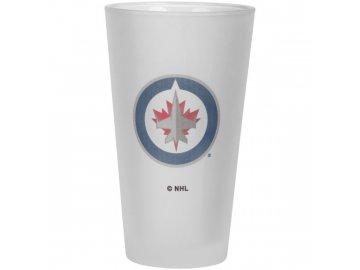 Sklenice Winnipeg Jets Frosted Pint Glass