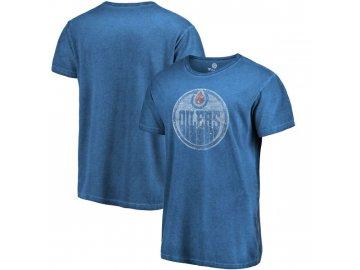 Tričko Edmonton Oilers Shadow Washed Logo