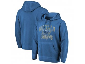 Mikina Buffalo Sabres Shadow Washed Retro Arch Pullover Hoodie