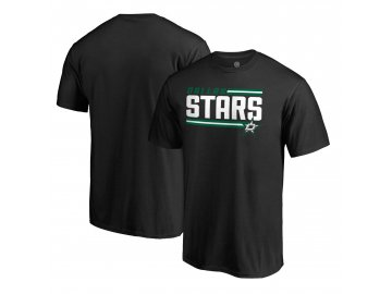 Tričko Dallas Stars Iconic Collection On Side Stripe