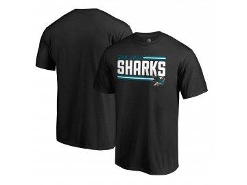 Tričko San Jose Sharks Iconic Collection On Side Stripe