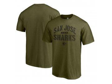 Tričko San Jose Sharks Camo Jungle