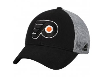 317fcef42a3 Kšiltovka Philadelphia Flyers Adidas Sun Bleached Meshback Flex