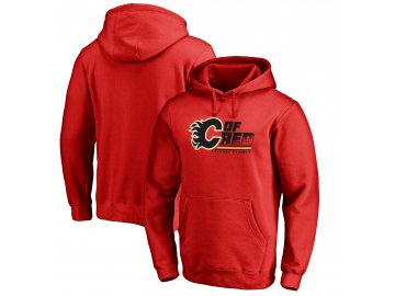 Mikina Calgary Flames Hometown Collection Pullover Hoodie