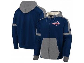 Mikina Washington Capitals Iconic Fleece Full-Zip Hoodie