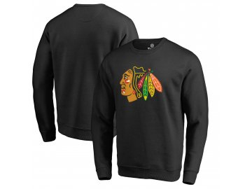 Mikina Chicago Blackhawks Primary Team Logo Pullover Sweatshirt