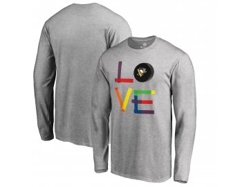 Tričko Pittsburgh Penguins Hockey Is For Everyone Love Square