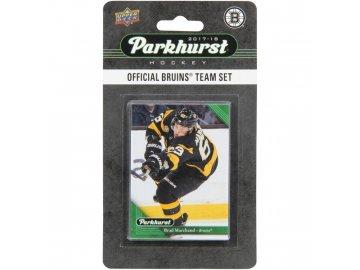 Hokejové Karty Boston Bruins Upper Deck Parkhurst 2017/18 Team Card Set