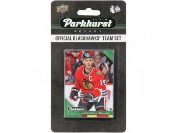Hokejové Karty Chicago Blackhawks Upper Deck Parkhurst 2017/18 Team Card Set