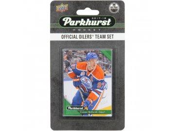 Hokejové karty NHL 2017-18 Upper Deck Parkhurst Edmonton Oilers Team Card Set