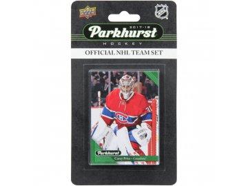 Hokejové Karty Montreal Canadiens Upper Deck Parkhurst 2017/18 Team Card Set