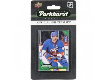 Hokejové Karty New York Islanders Upper Deck Parkhurst 2017/18 Team Card Set