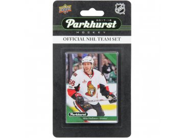Hokejové karty NHL 2017-18 Upper Deck Parkhurst Ottawa Senators Team Card Set
