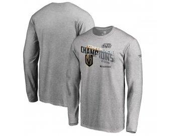 Tričko Vegas Golden Knights 2018 Western Conference Champions Locker Room Chip Pass Long Sleeve