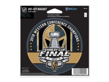 Magnetka Vegas Golden 2018 Western Conference Champions 12,5x15 cm