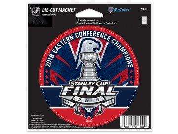 Magnetka Washington Capitals 2018 Eastern Conference Champions 12,5x15 cm