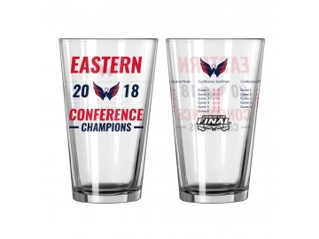 Sklenice Washington Capitals 2018 Eastern Conference Champions Pint Glass